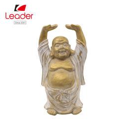 Suministro de la fábrica Hogar y Jardín Decoración Polyresin figurita de Buda estatua de Buda de oro