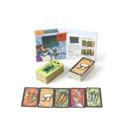 Suporte de plástico Printingpaper personalizado Bridge Trading bebendo Memória de terceiros Math Kid Cartão adulto da família da cadeia de jogos