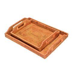 L'Osier rotin mobilier en rotin bac de cuisine