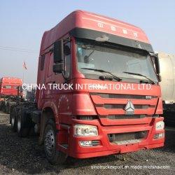 10 Wheeler HOWO Tractor de segunda mano camiones usados