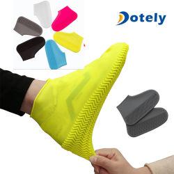 Silikonovershoes-Regen-wasserdichter Schuh-Deckel-Aufladungs-Deckel-Schoner-Schuh S/M/L