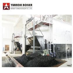 Tubo de água industrial de preços da China 1 tonelada para 40 Ton Biomassa Carvão Automática de pelotas de madeira da caldeira do sistema de vapor