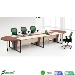 Metal Feet Plywood Panel 12/14 seaters Meeting Table in Conference Kamer