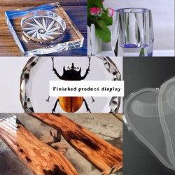 3: 1高い透過水晶エポキシDIYのエポキシ樹脂Ab水晶水晶堅いプラスチック灰皿の宝石類の樹脂の接着剤