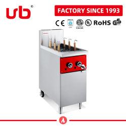 Het Kooktoestel van de Deegwaren van de Noedel van het Gas van het Roestvrij staal van de hoge Efficiency met 6 Manden voor Catering