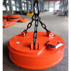 Circular do electroíman de levantamento de aparas de aço levantando MW5