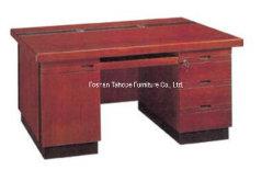 標準的なデザインMDFブラウンのコンピュータのオフィス表の木の家具(TH-5714)