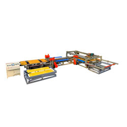 Deslizamiento automático de sierra de mesa/Automático de la Sierra de borde para trabajar la madera/láser Máquina de corte de madera contrachapada