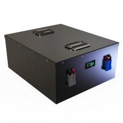 OEM LiFePO4 Rechargeable E-Bike Batterie 48V 100Ah pour moto Electirc /E-scooter batterie