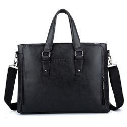 مصمم حقيبة جلدية للمحامي الأسود للرجال