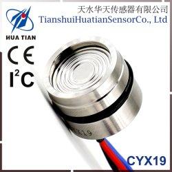 Cyx19-I2C de la CII Salida OEM Piezoresistive -100 kpa~100MPa Sensor de presión