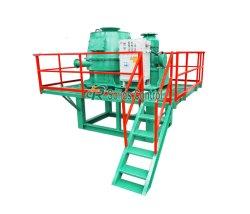 55kw sécheur de boue de la capacité de coupe verticale pour la séparation de boue d'huile