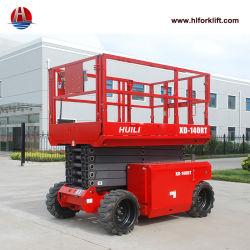 De mobiele het Opheffen Diesel van het Platform Lift die van de Schaar 12m 14m 16m opheft