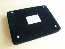 Роскошный Логотип черный бархат украшения упаковке для браслет