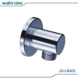 Las trampas de vapor en la pared latón cromado salida de agua de la válvula de derivación