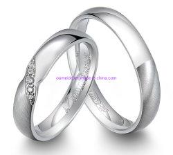Anel de jóias de prata 925 pessoalmente para a promoção