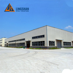La Chine soudé H-Section Structure en acier de construction en usine