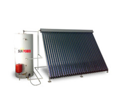 열 파이프 Solar Collector(SPA-58/1800-30-C 300L 시스템)