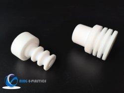 White Alta Temperatura Gaxeta de PTFE Aqueça o óleo resistente plana da vedação de gaxeta de PTFE