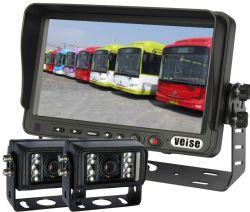 Backupkamera-Systems-Installationssatz, '' Monitor des Bildschirm-7, IP69 imprägniern hintere Ansicht-Kamera für LKW/Sattelschlepper/Kasten Truck/RV, scharfes CCD-Chip