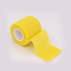 FDA di iso autoadesiva medica elastica non tessuta del Ce del nastro di sport
