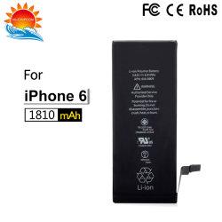 Les cellules de batterie de haute qualité et de matériaux de la batterie pour iPhone 6/6G, l'usine des accessoires personnalisés