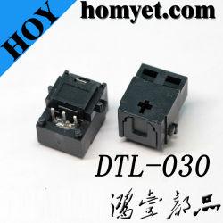 Les fabricants d'alimentation du connecteur à fibre optique DLT Émetteur à fibres optiques Les bornes