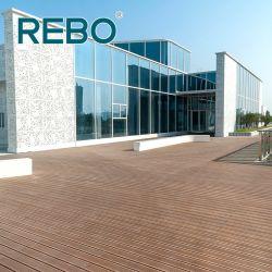 Medio de materiales de construcción de la plataforma de bambú carbonizado cubre suelos