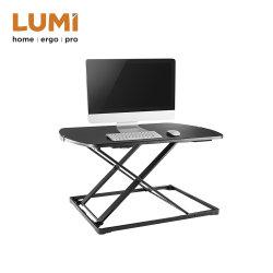 Ultra Slim compact de bureau, station de travail permanent de l'ordinateur de table table debout