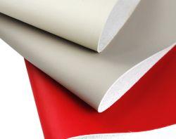 Venta caliente la textura de cuero Nappa PU microfibra para asiento del coche, el sofá, bolsos de mano y muebles, etc.