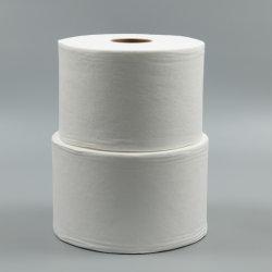 100% algodão Material Spunlace Wipe Nonwoven Fabric