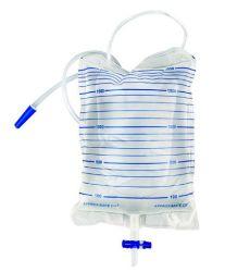 Recolección de orina estéril desechable bolsa de drenaje 2000ml con válvula de T
