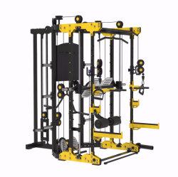 Nieuw ontwerp Carrosseriebouw Commercieel thuisgebruik Strength machine multifunctioneel Trainer Squat Rack 3D Smith machine Sports Gym Fitness-apparatuur