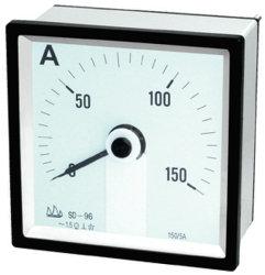 96 240° 세륨을%s 가진 이동하는 계기 DC 전류계