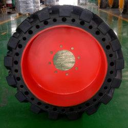 Tire30 الصلبة على شكل قالب*10-16 استبدل 10-16.5 باللودر المزوَّد بسيور انزلاقية من Bobcat ومصعد ذراع الرافعة