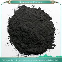 ينشّط جوز هند فحم نباتيّ مسحوق على نحو واسع يستعمل في طعام الطبّ كحول