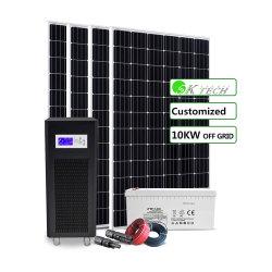 中国の工場地面または屋根の上の土台のホーム使用の光起電太陽系