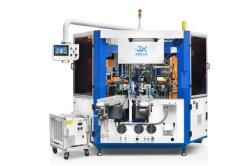 Automatische Rotary 3-Farb-Siebdruckmaschine mit LED-UV-Aushärtungsgerät