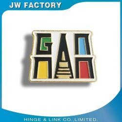Ferro del ricordo che timbra Pin morbido del risvolto del distintivo di Retangle del magnete dello smalto di marchio dell'oro del metallo dell'emblema su ordinazione del mestiere per il regalo promozionale nessun minimo