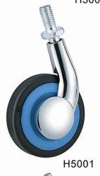 60мм с одной стороны металлической мебели самоустанавливающееся колесо (D4006)