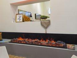 Nueva luz LED 3D personalizadas humidificación el vapor de agua chimenea eléctrica