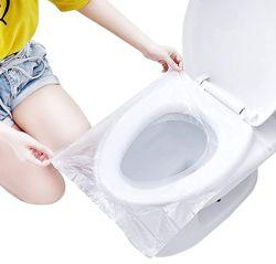 PE одноразовый туалет водонепроницаемый чехол сиденья