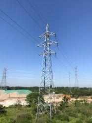 변압기 변전소 전송선 각 강철 탑
