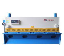 QC11y/K油圧せん断機械CNCのギロチンのせん断機械CNCの金属板の打抜き機