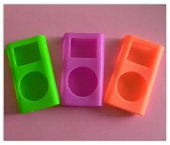 Reproductor de música de la cubierta de silicona