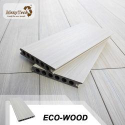 Impermeable Promocional Barato Tapado de Grano de Madera Composite Co-Extrusion WPC Techado