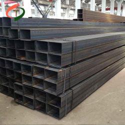 China-Zubehör Q195 kohlenstoffarmes schwarzes heißes BAD galvanisiertes beschichtendes quadratisches Stahlgefäß/rechteckiges hohles Röhrenstahlrohr