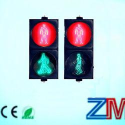 Novo Design 200/300/400 tráfego pedestre / Luz de LED piscando sinal de trânsito