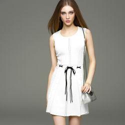 Commerce de gros Custom 2018 womens robe pull tricotés enduire manchon off fil acrylique