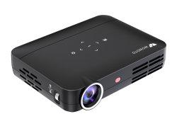 Manuel de Wowoto Focus Lens et Style DLP Projecteur à LED 350 ANSI Lumens, la résolution native de 1280*800 l'appui 4K (H9 PRO)
